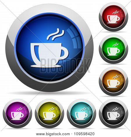 Coffee Button Set