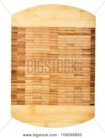 Wooden Cutting Board/ Top View