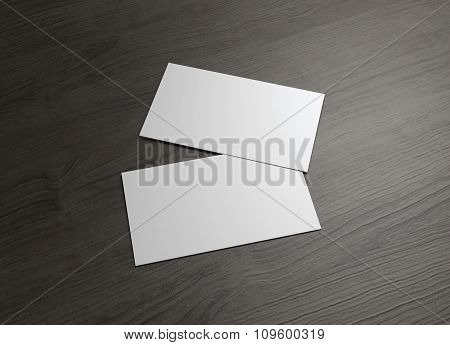 Front And Back Business Card Overlap
