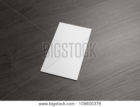 Name Card For Business Presentation Vertical Right
