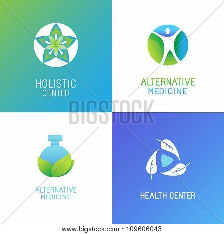Vector Set Of Emblems And Logo Design Templates