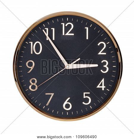 Five To Three On The Clock Face