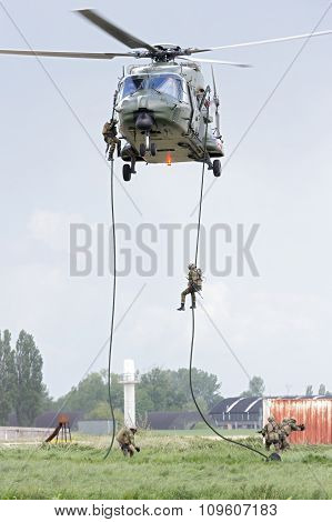 Belgian Army Nh90 Helicopter
