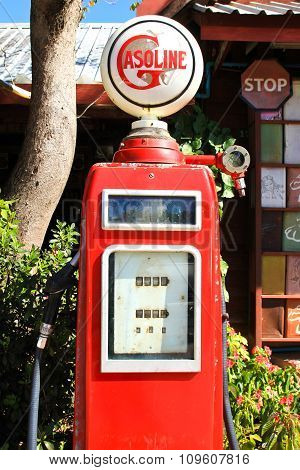 Vintage Fuel Dispenser
