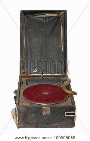 Ancient Isolated Turntable