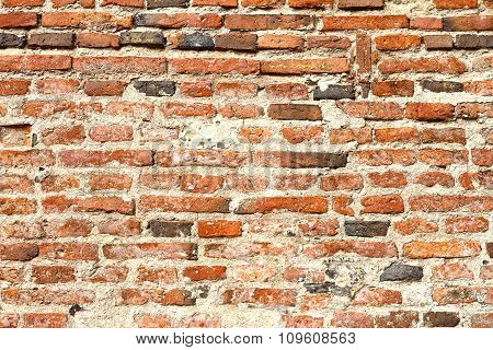 Reddish Brick Wall Texture