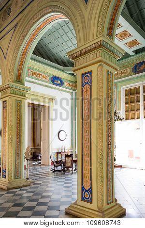 Cantero Palace Details in Trinidad,Cuba