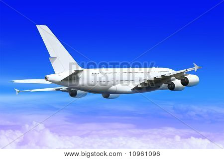 Landing Big Plane
