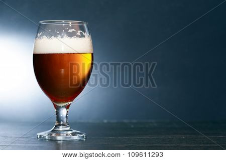 Beer On Dark