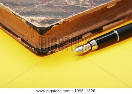 Pen And Book
