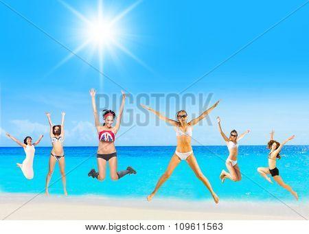 Summer Exercise Having Fun