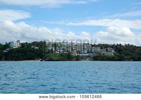 Overview of Boracay Island in Boracay, Philippines