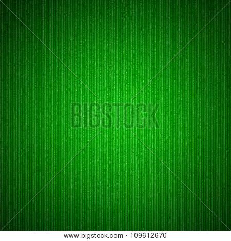 emerald color corrugation paper texture background