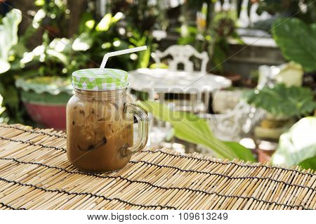 Ice Coffee Thai Style