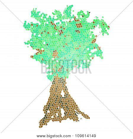 Tree logo icon
