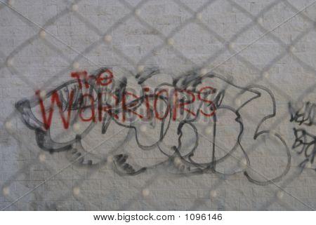städtische Straßen-Gang graffiti