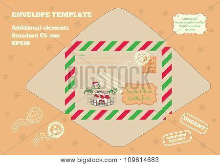 envelope For Letter To Santa
