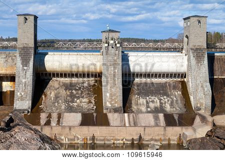 Imatrankoski, Hydroelectric Power Station Facade