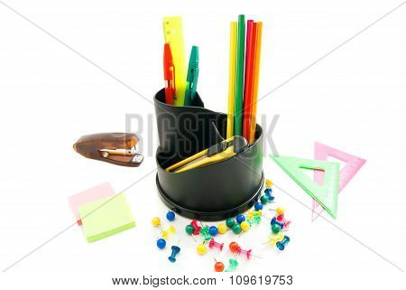 Stapler And Other Office Stationery