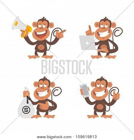 Monkey money and technology