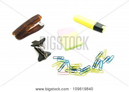 Staple Remover And Other Stationery