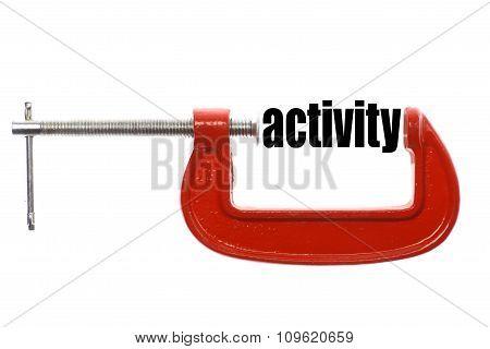 Less Activity Concept