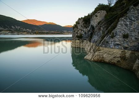 Embalse De Pena, Aragon, Spain
