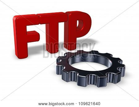 Ftp Tag And Gear Wheel
