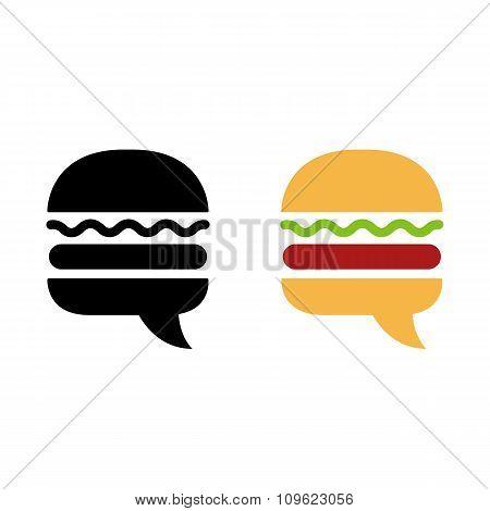 Burger Icon Symbol