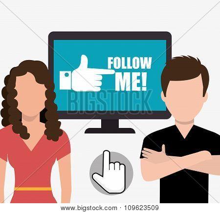 Follow me social trends