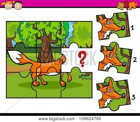 Jigsaw Puzzle Educational Task