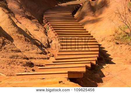 the trail of ochre