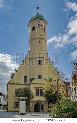 Old Town Hall, Weiden In Der Oberpfalz, Germany