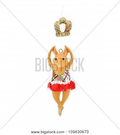 Dancing Mouse. Christmas decoration