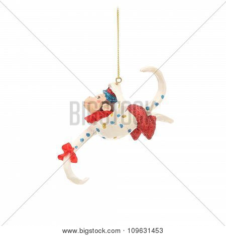 circus monkey. Christmas decoration
