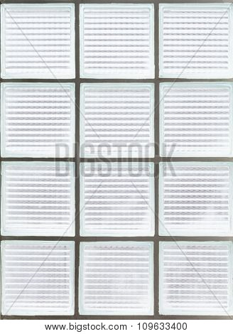 Clear White Glass