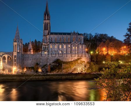 Lourdes Santuary Fro Across The River
