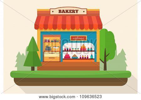 Bakery shop.