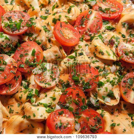 Tortellini With Fresh Tomatoes