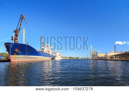 Ship In Port