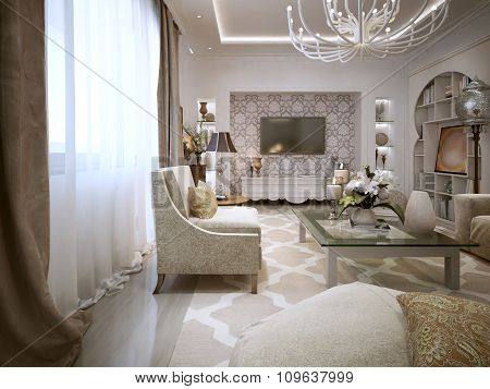 Luxury Living In The Arab Style. In Bright Colors.