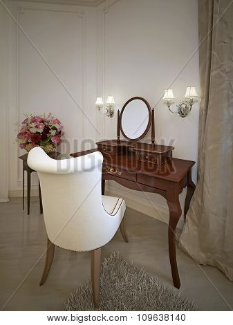 Dressing Table Classical Style
