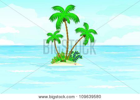 Summer Ocean Tropical