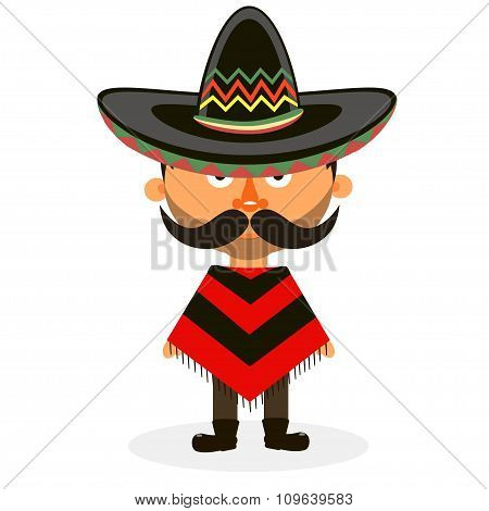 Mexican In A Sombrero