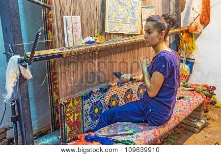 The Rug Making