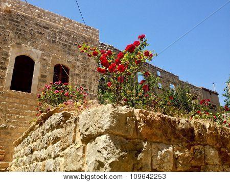 Old lebanese village Dibbiye, Mount Lebanon