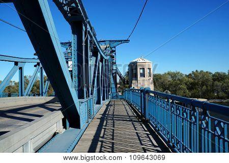 McDonough Street Bridge's Pedestrian Walkway