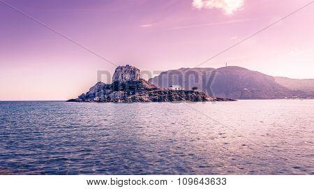 Romantic Wedding On Greek Island