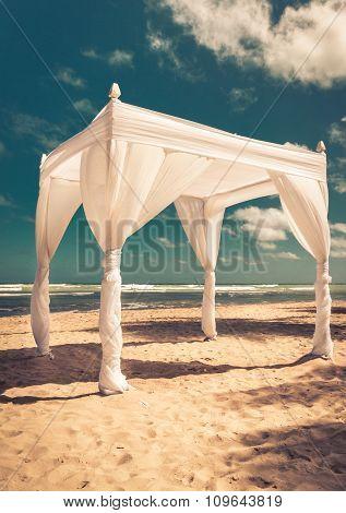 Wedding Altar On The Beach