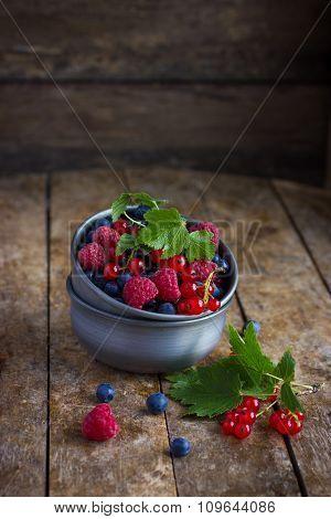 Fresh Summer Berries In  Metal Bowl.tif